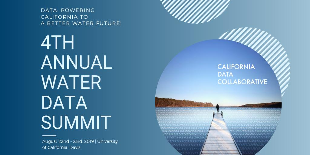 Water Data Summit 2019